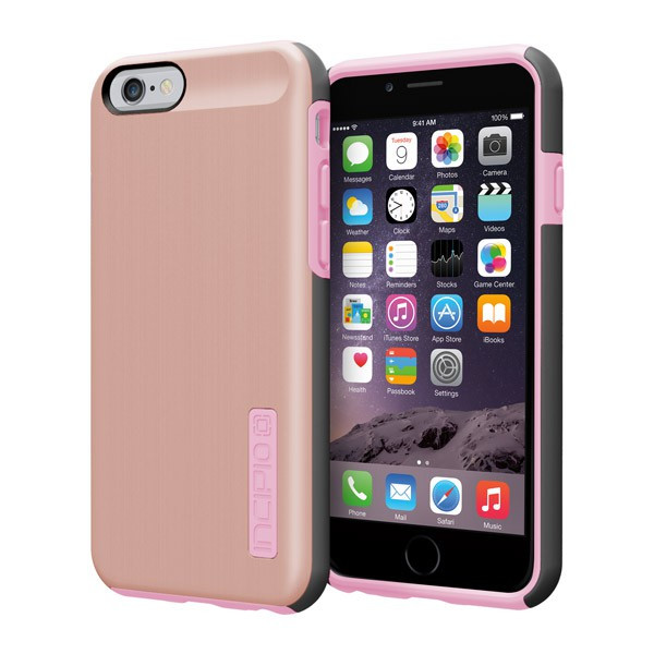 iPhone 6/6S - Rose Gold/Blush Incipio DualPro Shine Case Cover