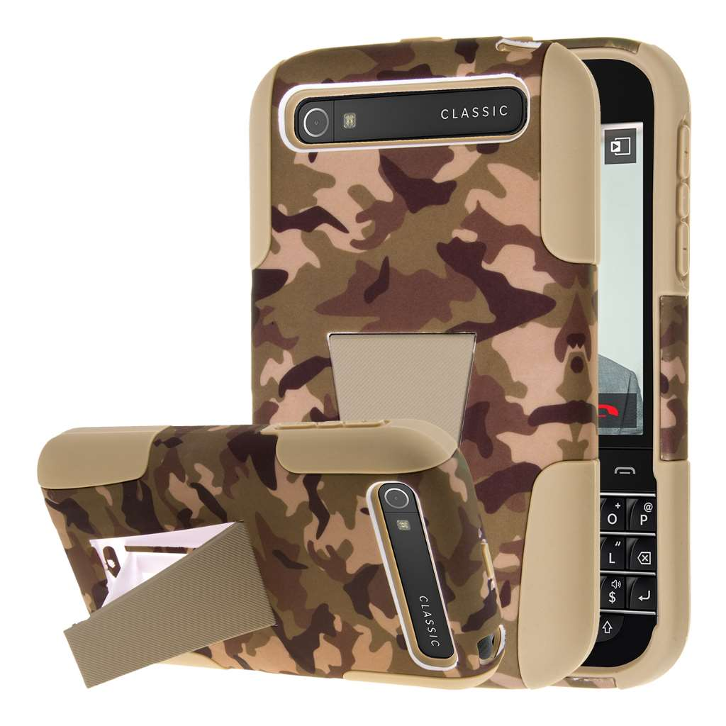BlackBerry Classic - Hunter Camo MPERO IMPACT X - Kickstand Case Cover
