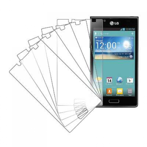 LG Splendor MPERO 5 Pack of Clear Screen Protectors