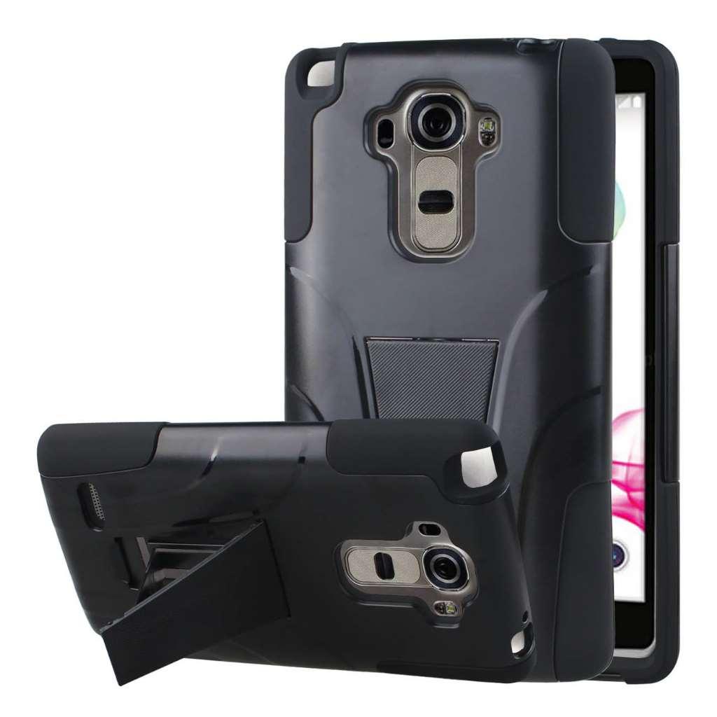 LG G Stylo - Black MPERO IMPACT X - Kickstand Case Cover