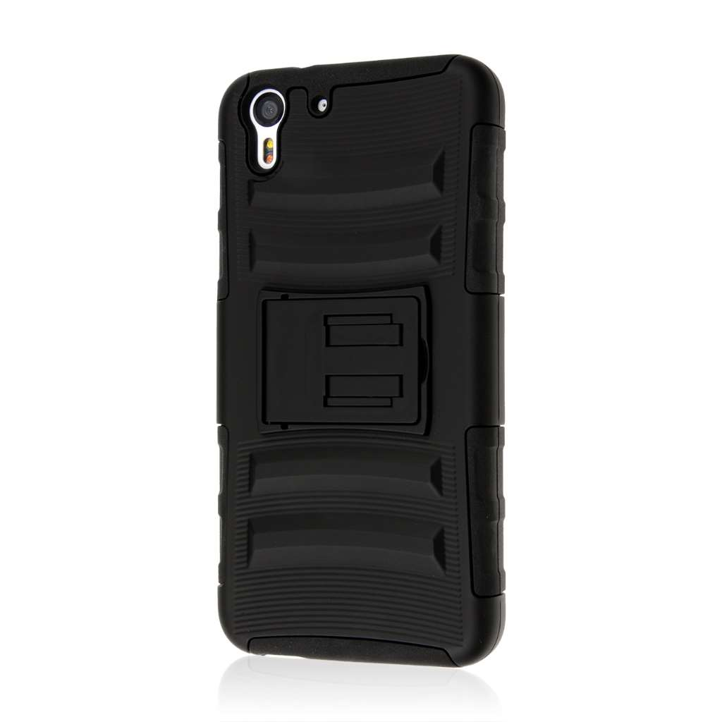 HTC Desire EYE - Black MPERO IMPACT XT - Kickstand Case Cover