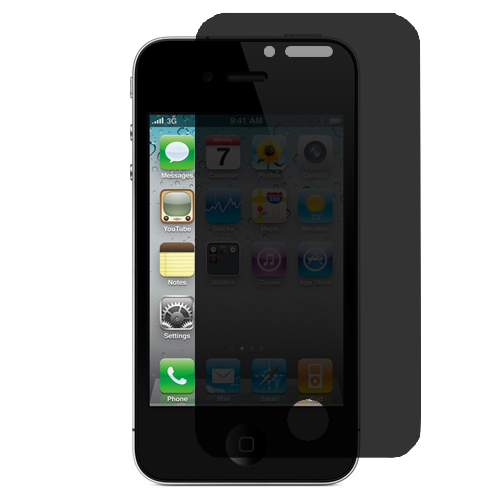 Apple iPhone 4 / 4S 360 Privacy LCD Screen Protector