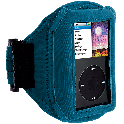 Apple iPod Classic Baby Blue Running Sports Gym Armband