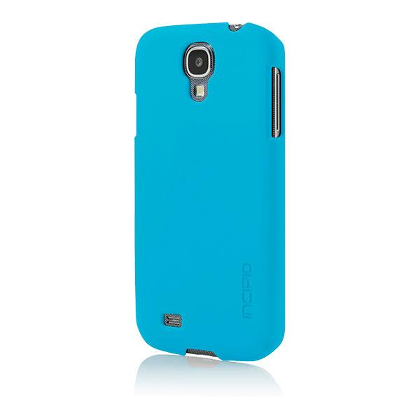 Samsung Galaxy S4 - Cyan Blue Incipio Feather Case Cover
