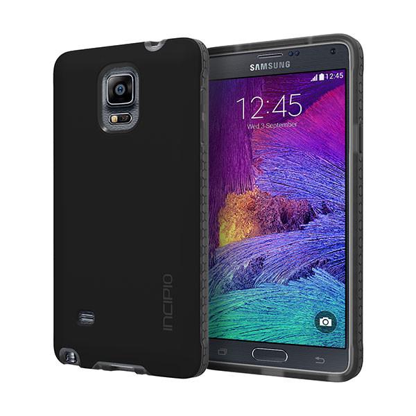 galaxy Note 4 - Solid Black Incipio Octane Case Cover