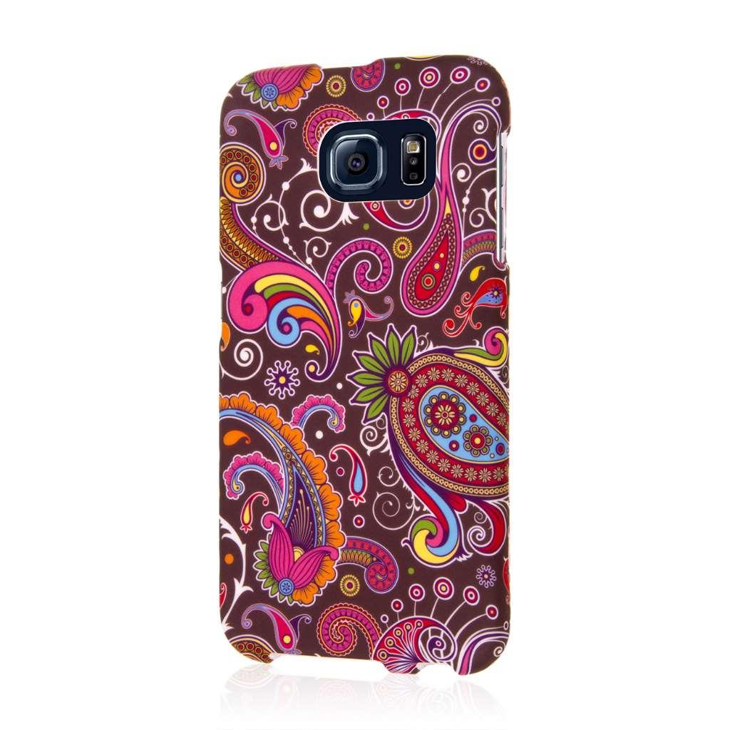 Samsung Galaxy S6 - Black Paisley MPERO SNAPZ - Case Cover