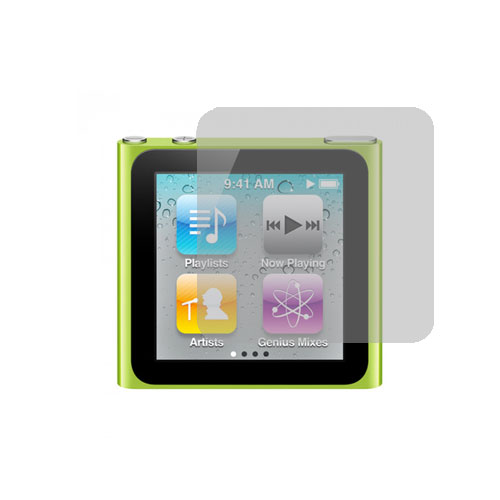 Apple iPod Nano 6th Generation Clear LCD Screen Protector