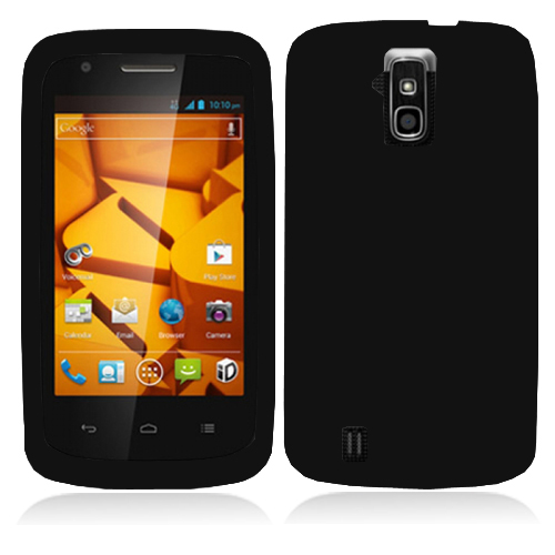 ZTE Force N9100 Black Hard Rubberized Case Cover