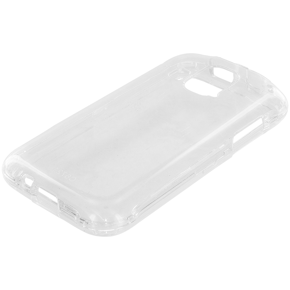 Kyocera Hydro XTRM Clear Crystal Transparent Hard Case Cover