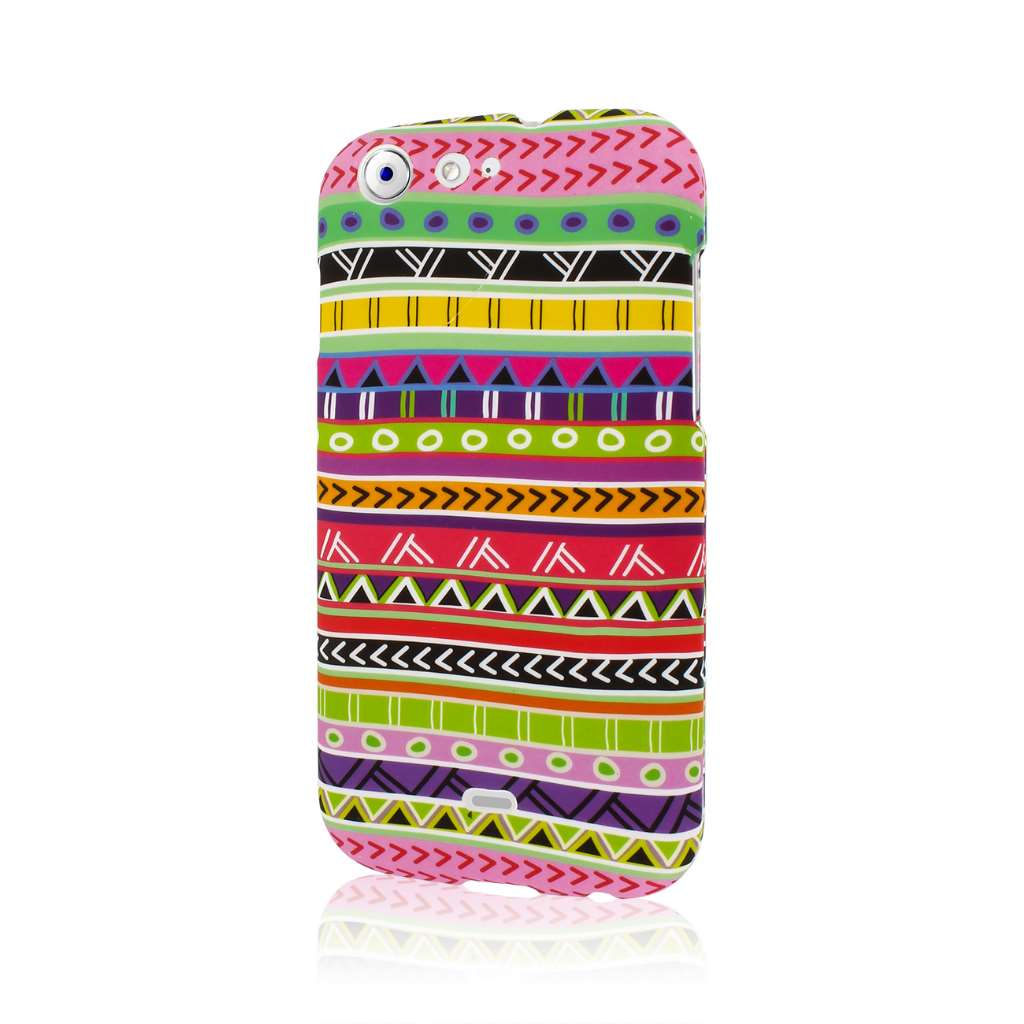 BLU Life One - Aztec Fiesta MPERO SNAPZ - Rubberized Case Cover