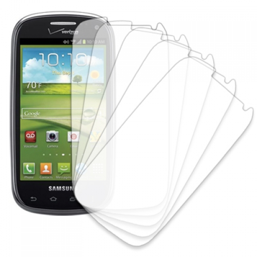 Samsung Galaxy Stratoshpere II I415 MPERO 5 Pack of Clear Screen Protectors