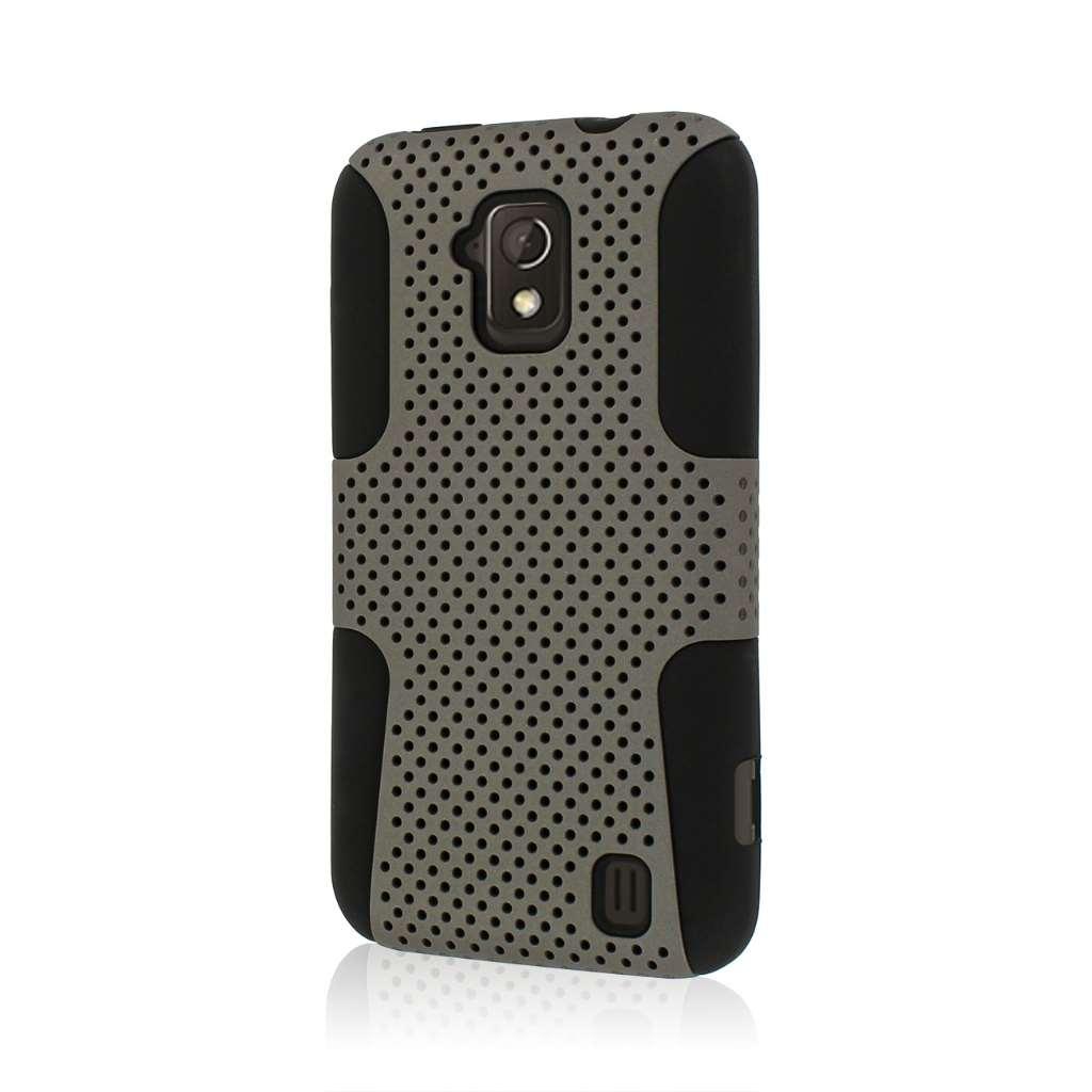 ZTE Solar - Gray MPERO FUSION M - Protective Case Cover