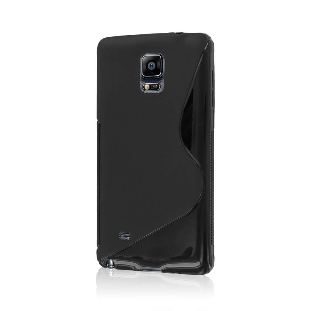 Samsung Galaxy Note 4 - Black MPERO FLEX S - Protective Case Cover