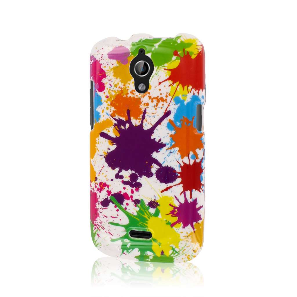 Huawei Vitria - White Paint Splatter MPERO SNAPZ - Glossy Case Cover