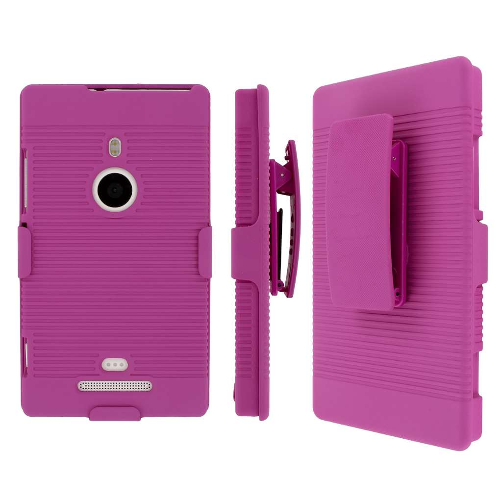 Nokia Lumia 925 MPERO 3 in 1 Tough Kickstand Case Cover
