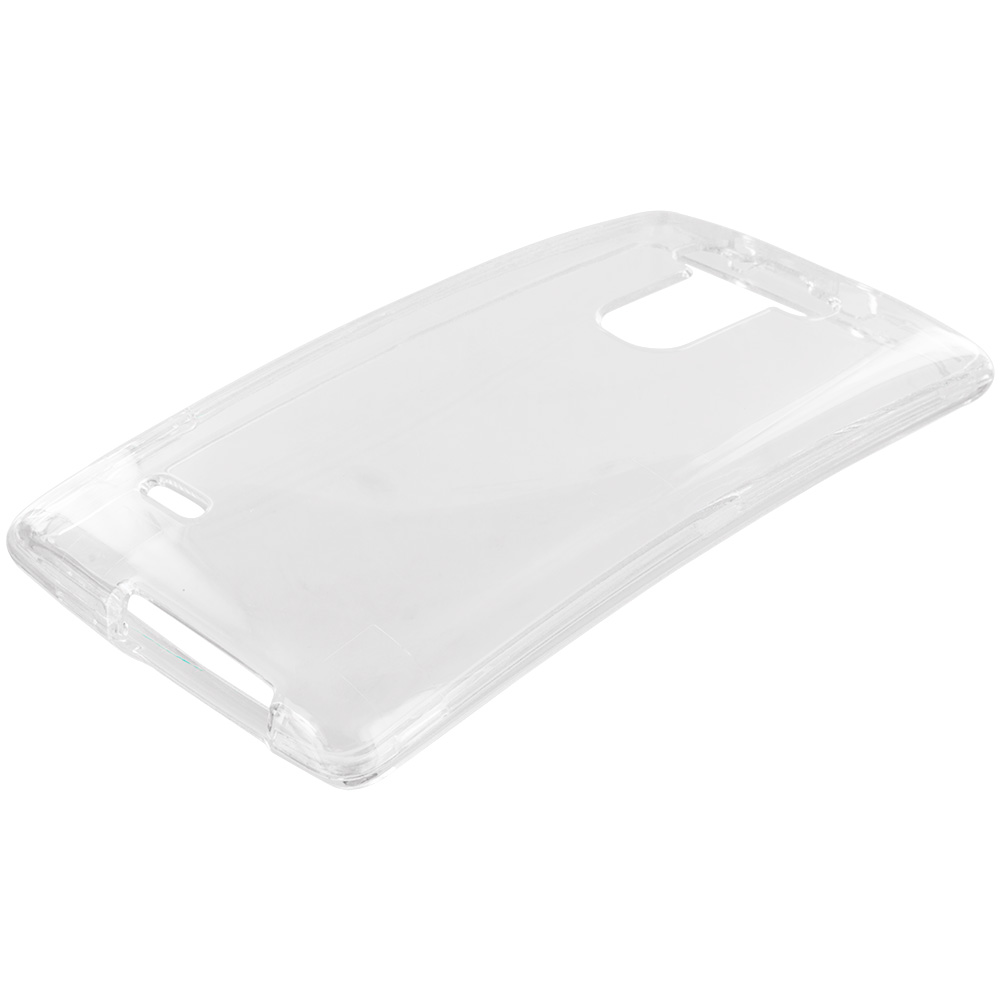 Alcatel One Touch Pop Mega A995L Clear Crystal Transparent Hard Case Cover