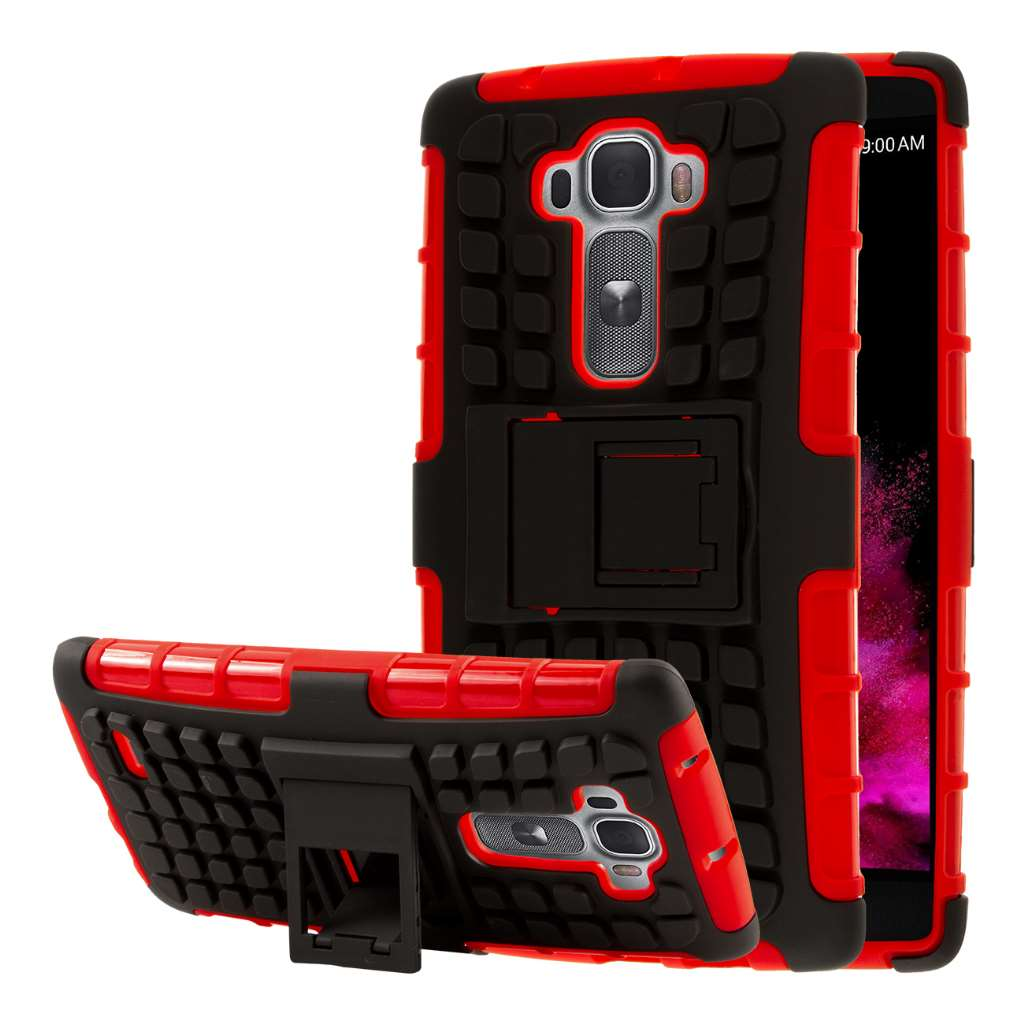 LG G Flex 2 - Red MPERO IMPACT SR - Kickstand Case Cover