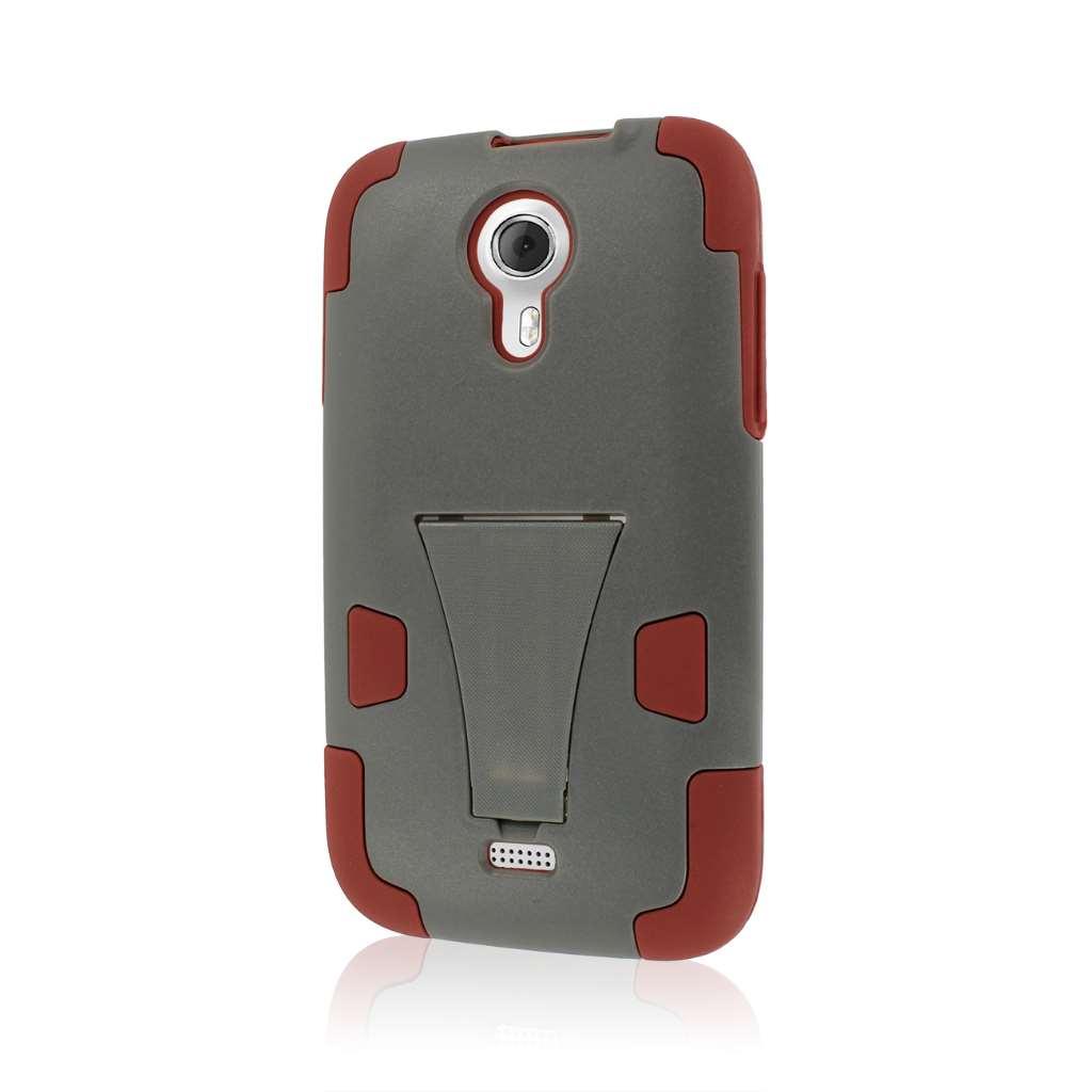 BLU Studio 5.0 - Sandstone / Gray MPERO IMPACT X - Kickstand Case Cover