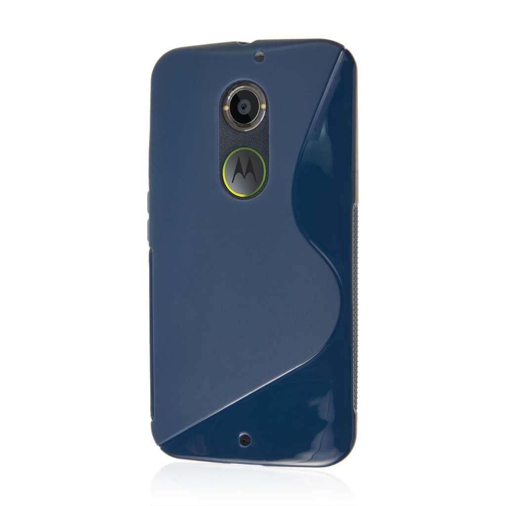 Motorola Moto X 2014 2nd Gen - Navy Blue MPERO FLEX S - Protective Case