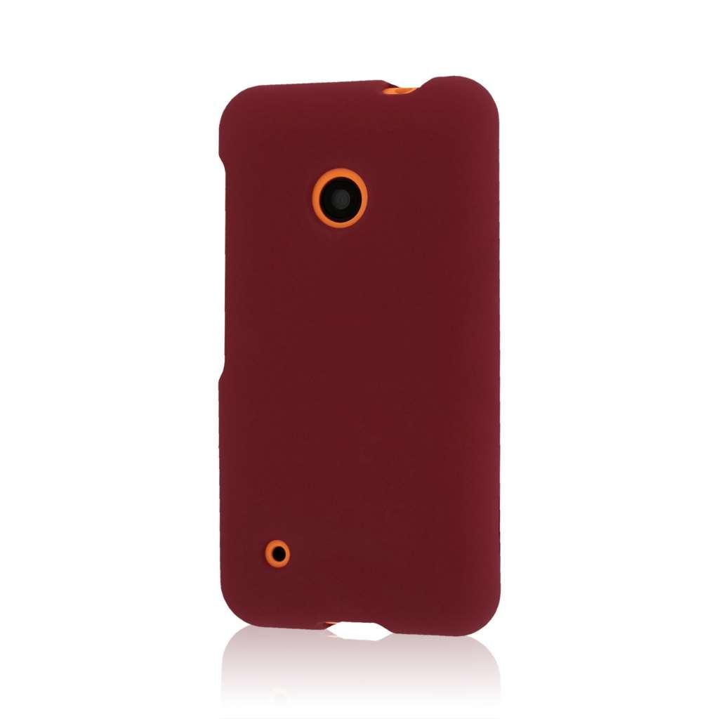 Nokia Lumia 530 - Burgundy MPERO SNAPZ - Case Cover