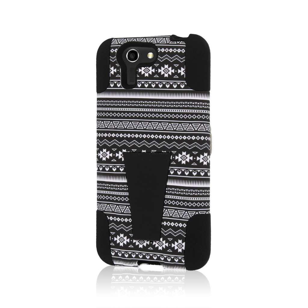 ASUS PadFone X - Black Aztec MPERO IMPACT X - Kickstand Case Cover