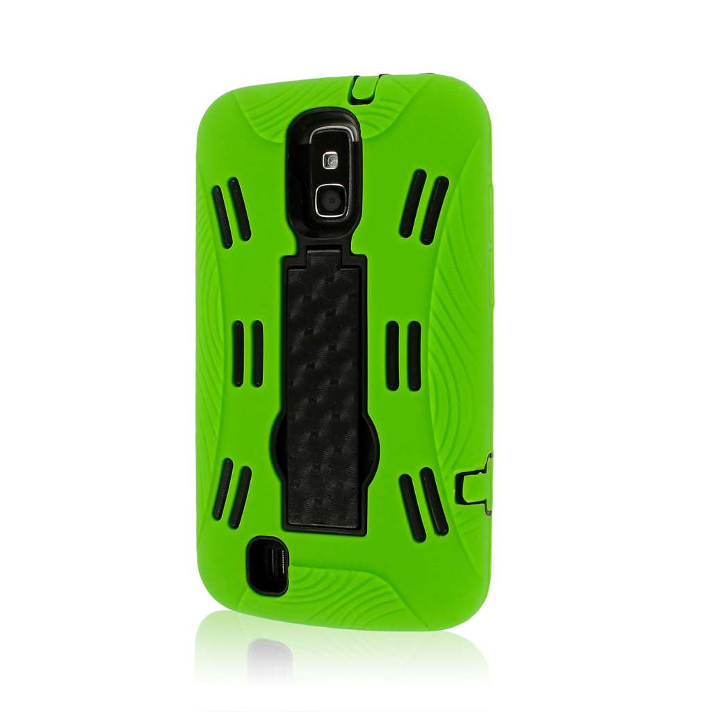 ZTE Force N9100 - Neon Green MPERO IMPACT XL - Kickstand Case Cover