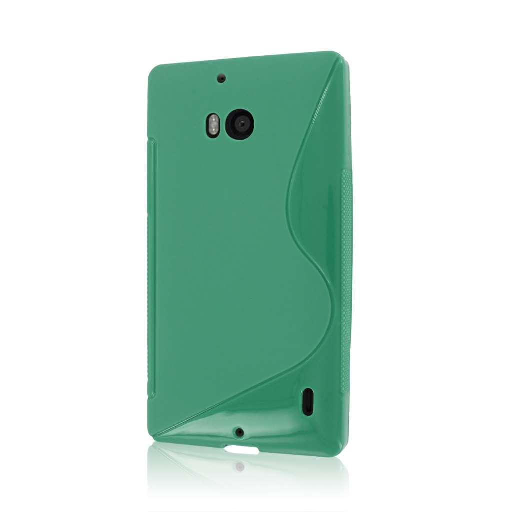 Nokia Lumia Icon - MINT GREEN MPERO FLEX S - Protective Case Cover