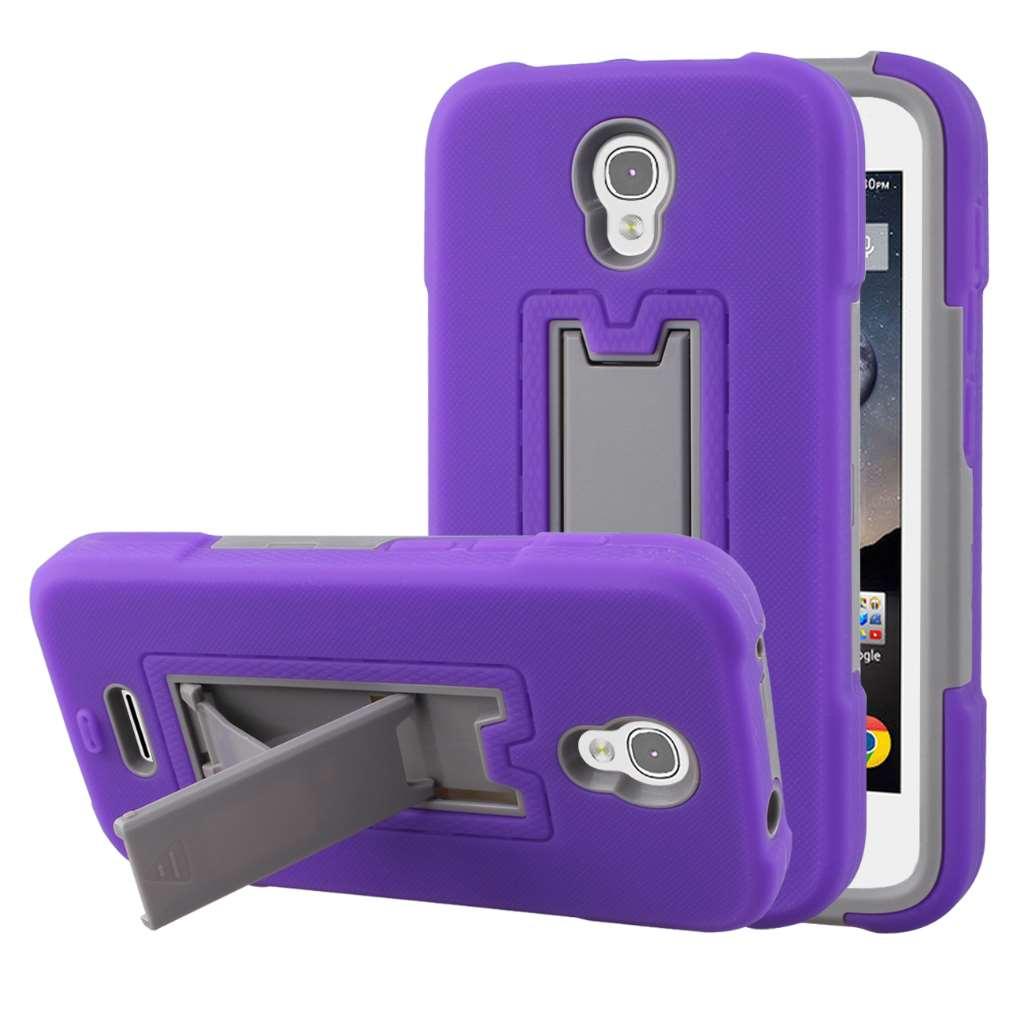 Alcatel OneTouch POP Astro - Purple MPERO IMPACT XS - Kickstand Case Cover