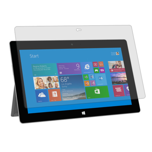 Microsoft Surface Pro 2 / Surface RT Clear LCD Screen Protector