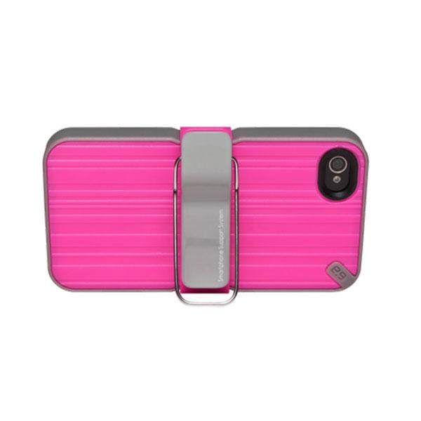 iPhone 4/4S - Pink PureGear The Utilitarian Smartphone Support System Case