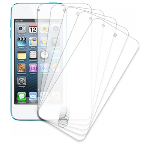 Apple iPod Touch 5th Gen MPERO 5 Pack of Clear Screen Protectors