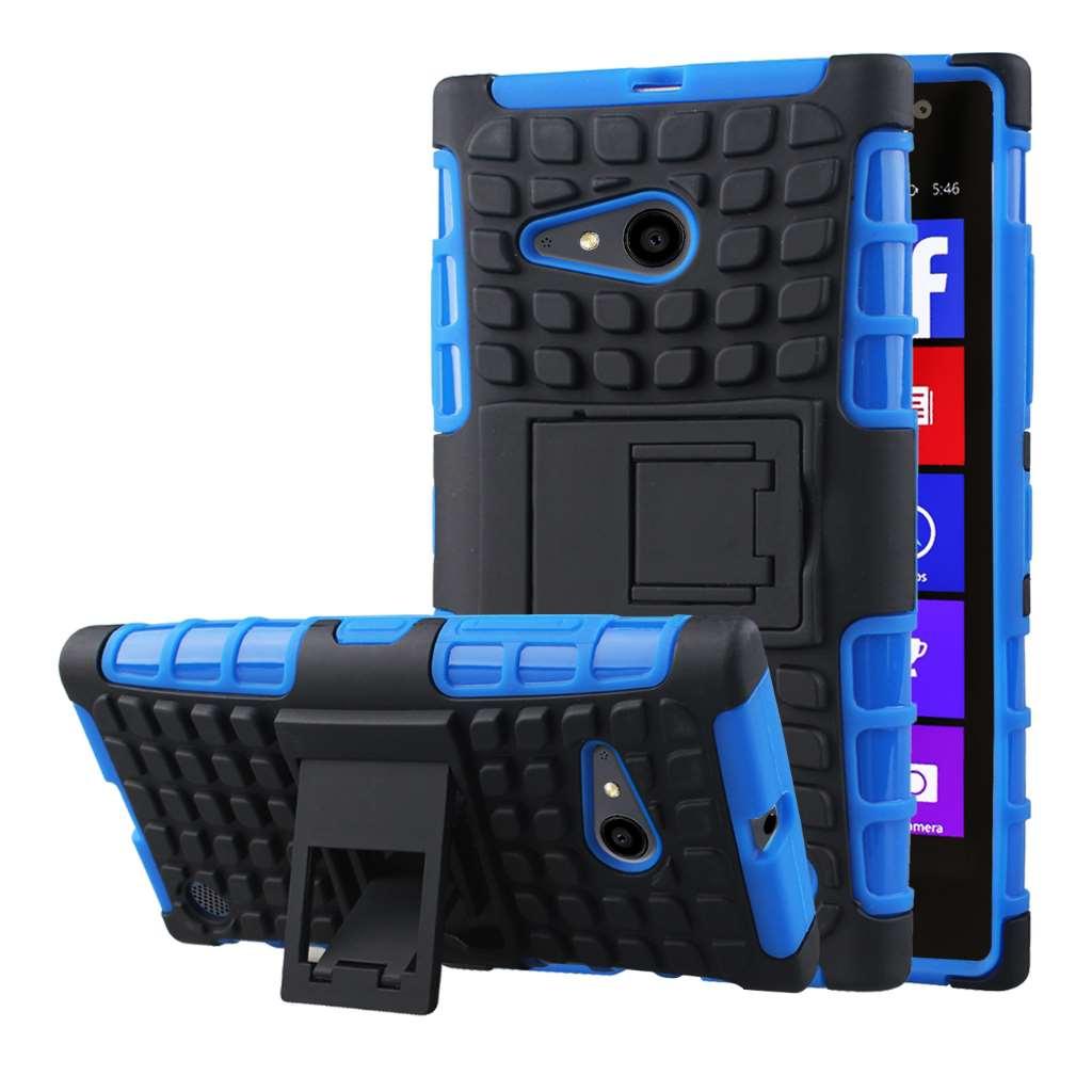 Nokia Lumia 735 - Blue MPERO IMPACT SR - Kickstand Case Cover