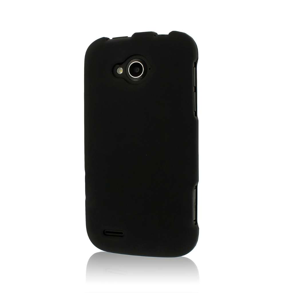 ZTE Reef - Black MPERO SNAPZ - Rubberized Case Cover