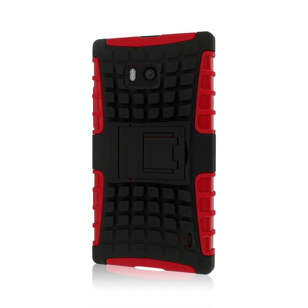 Nokia Lumia Icon- red MPERO IMPACT SR - Kickstand Case Cover
