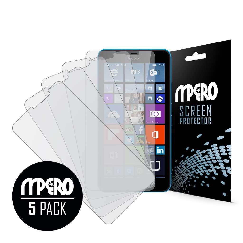 Microsoft Lumia 640 XL MPERO 5 Pack of Matte Screen Protectors