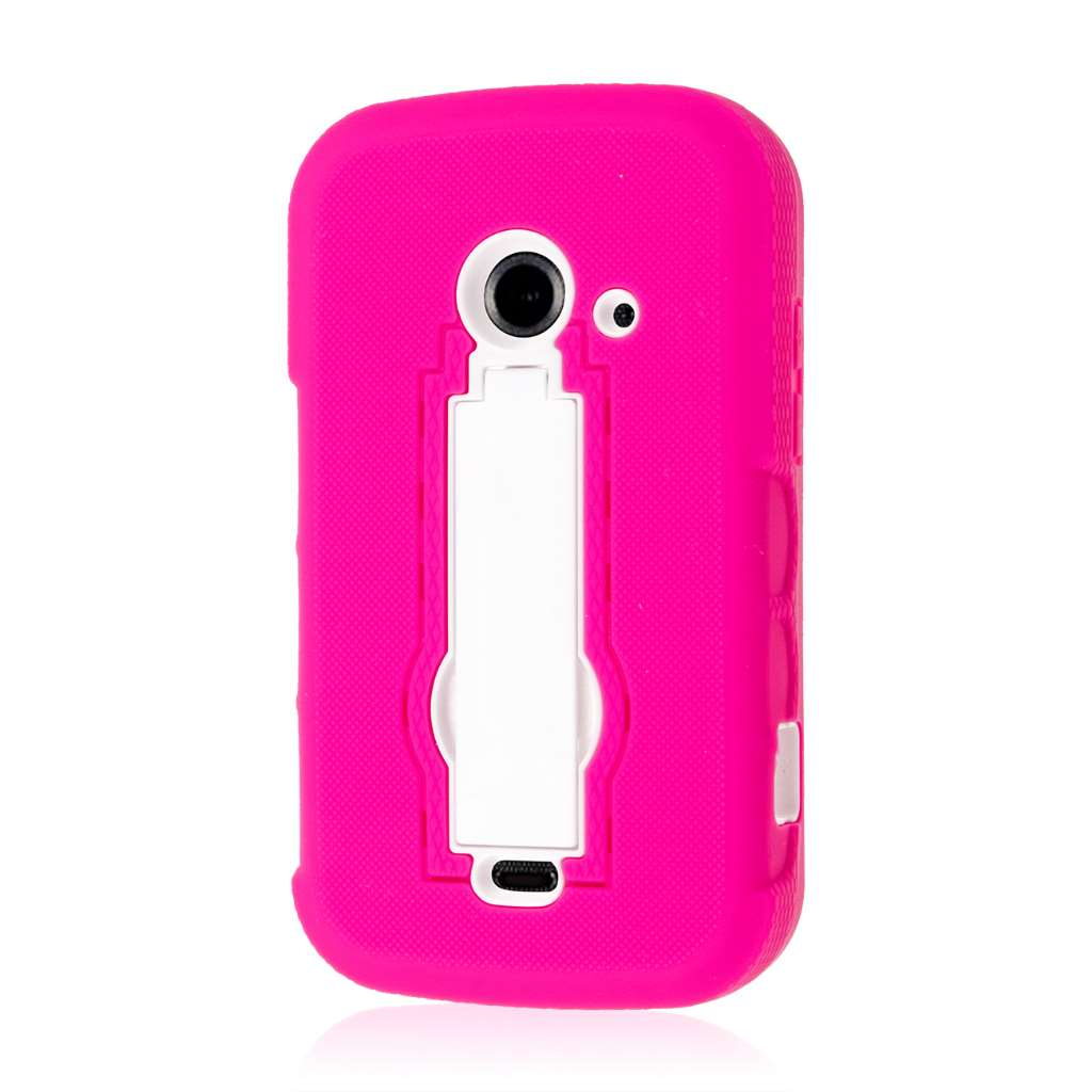 ZTE Prelude 2 - Hot Pink MPERO IMPACT XS - Kickstand Case Cover