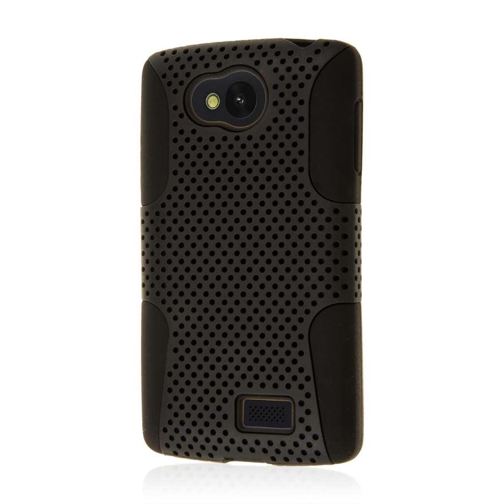 LG F60 - Black MPERO FUSION M - Protective Case Cover