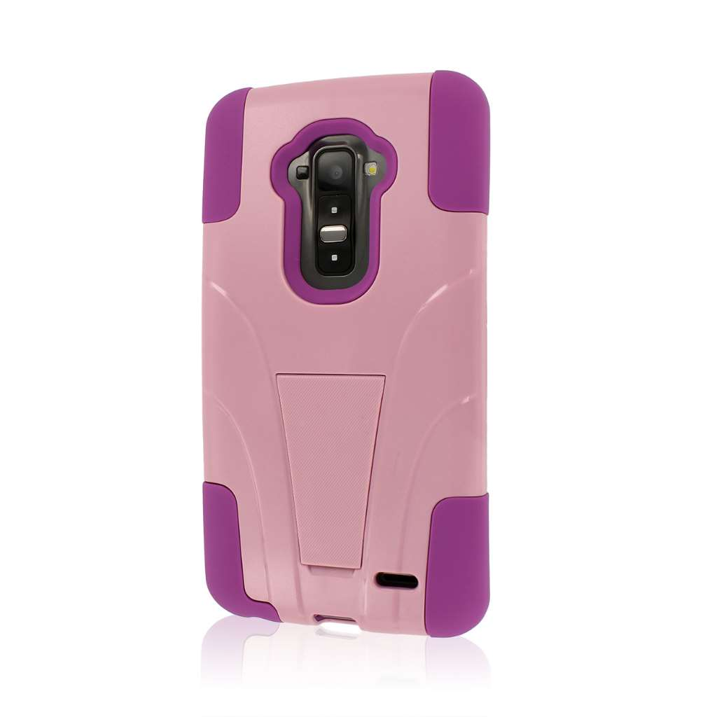 LG G Flex - Pink MPERO IMPACT X - Kickstand Case Cover