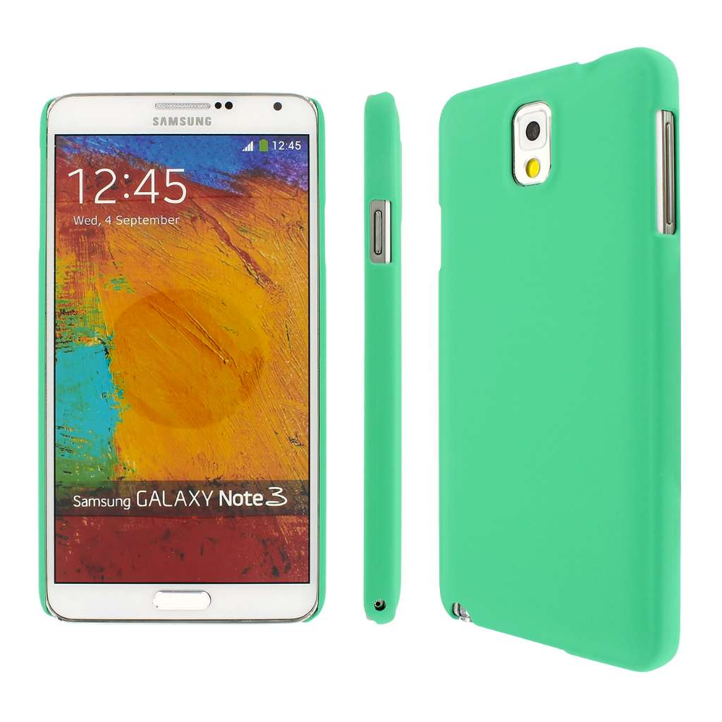 Samsung Galaxy Note 3 - Mint MPERO SNAPZ - Rubberized Case Cover