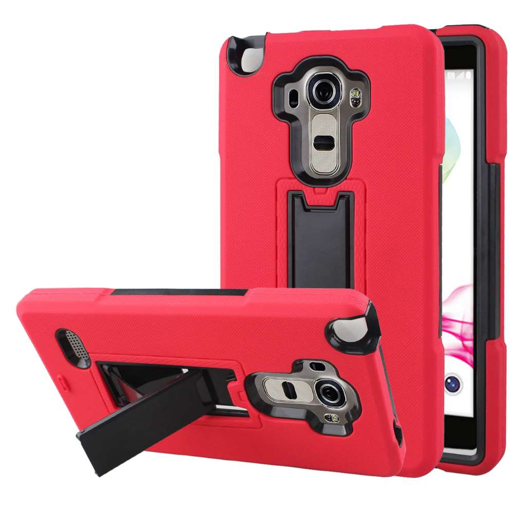 LG G Stylo - Red MPERO IMPACT XS - Kickstand Case Cover