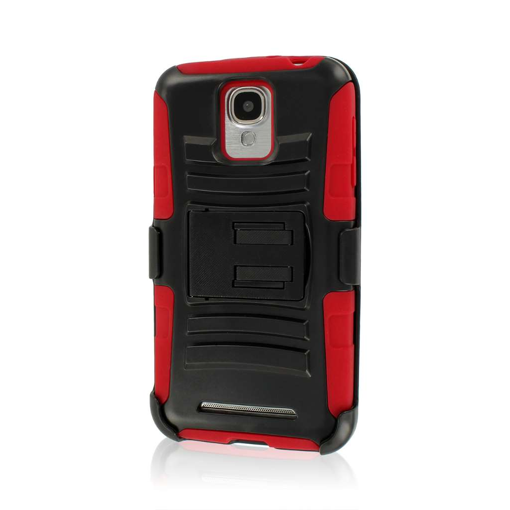 Samsung ATIV SE - Red MPERO IMPACT XT - Kickstand Case and Belt Clip Holster