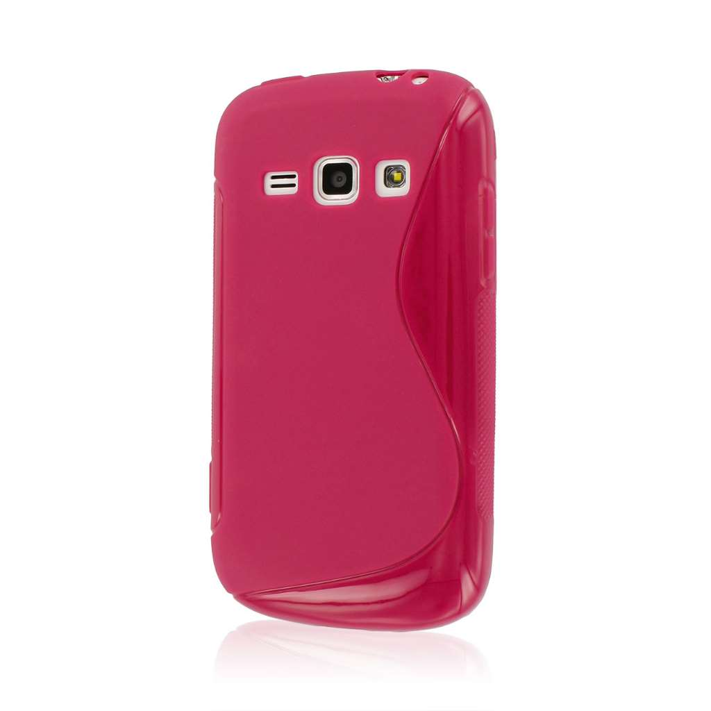 Samsung Galaxy Prevail 2 - Hot Pink MPERO FLEX S - Protective Case Cover