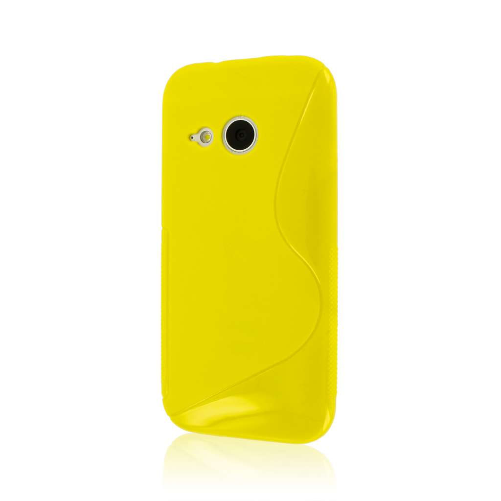 HTC One Mini 2 - Yellow MPERO FLEX S - Protective Case Cover