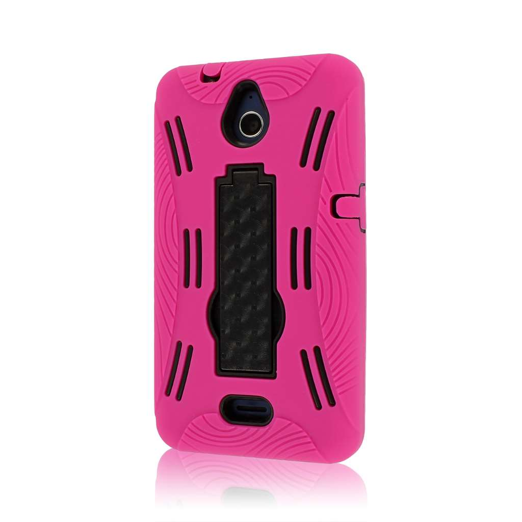 Huawei Valiant - Hot Pink MPERO IMPACT XL - Kickstand Case Cover