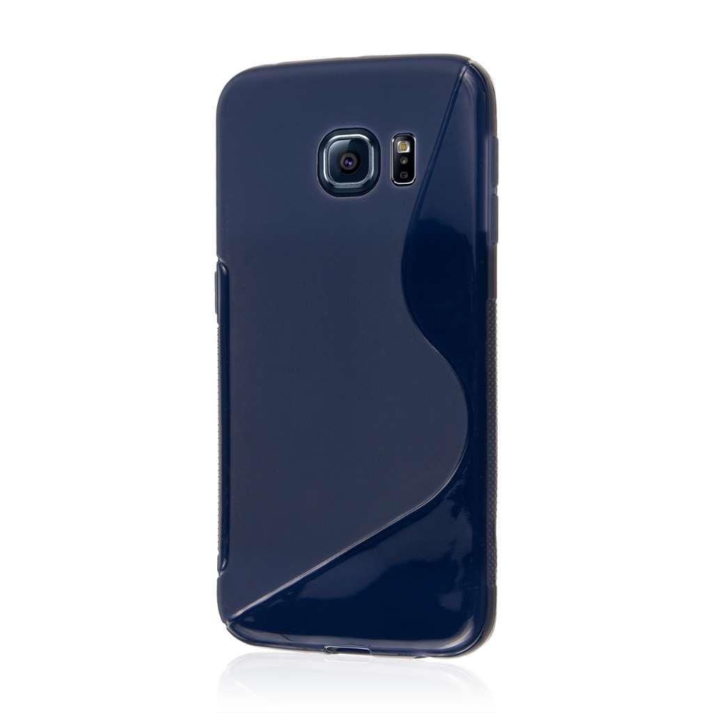 Samsung Galaxy S6 Edge - Blue MPERO FLEX S - Protective Case Cover