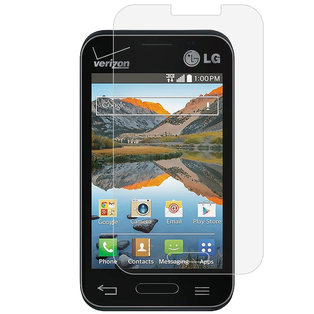LG Optimus Zone 2 / Fuel L34C Clear LCD Screen Protector