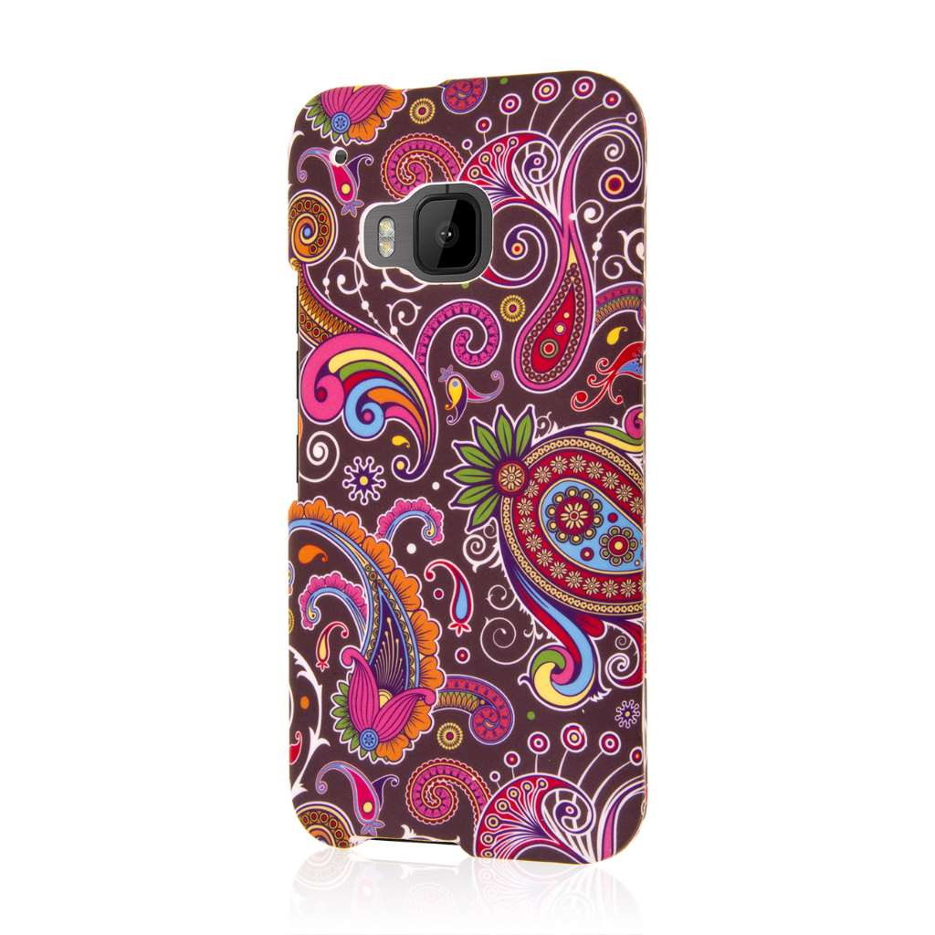 HTC One M9 - Black Paisley MPERO SNAPZ - Case Cover
