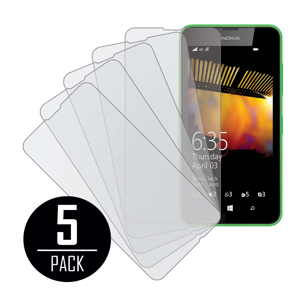 Nokia Lumia 635 MPERO 5 Pack of Matte Screen Protectors
