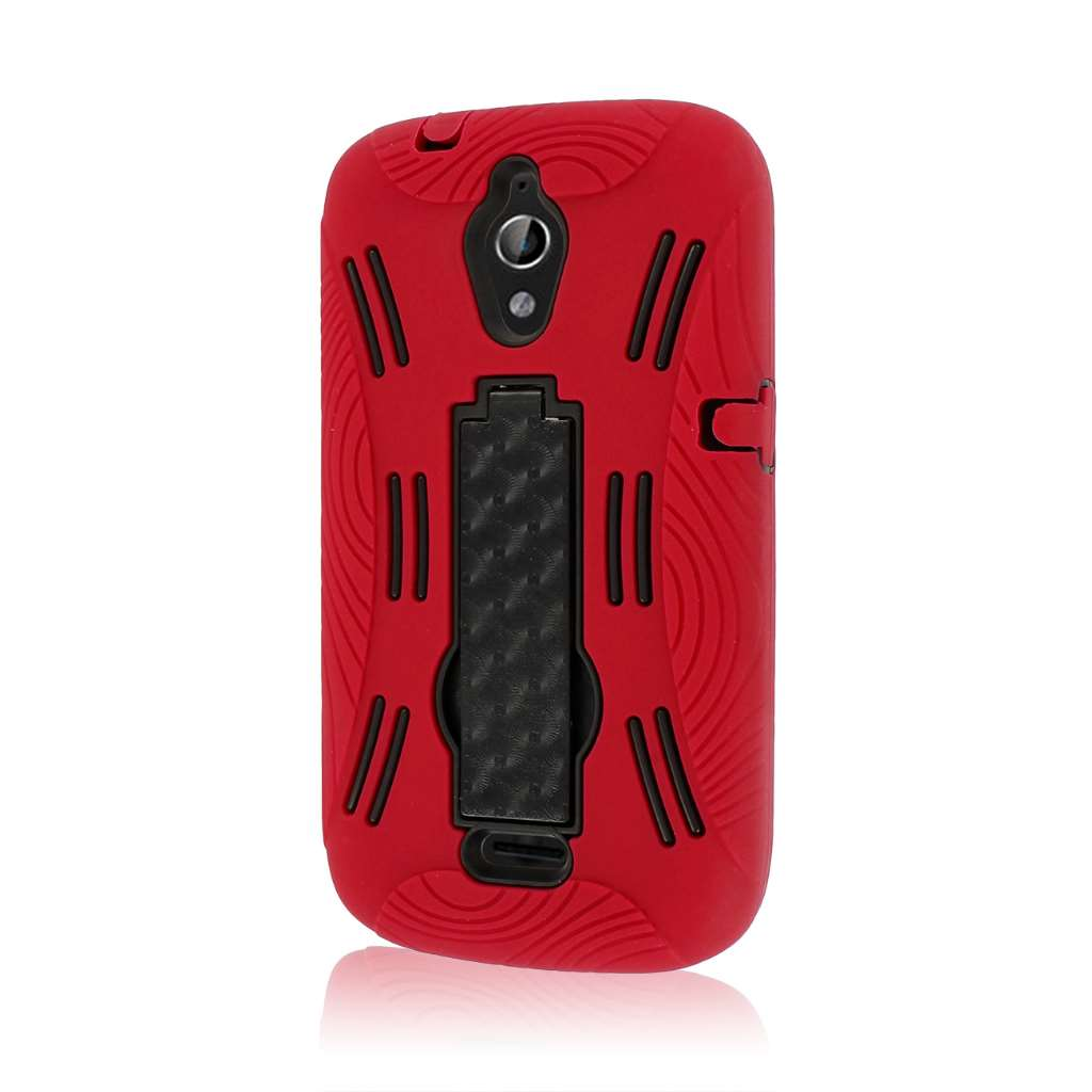 Huawei Vitria - Red MPERO IMPACT XL - Kickstand Case Cover