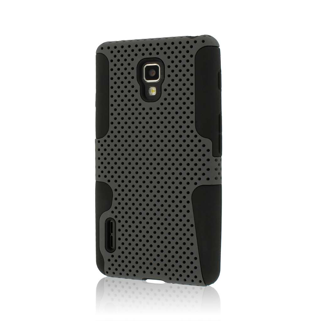 LG Optimus F7 US780 - Gray MPERO FUSION M - Protective Case Cover